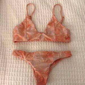 Tori Praver tye dye bikini